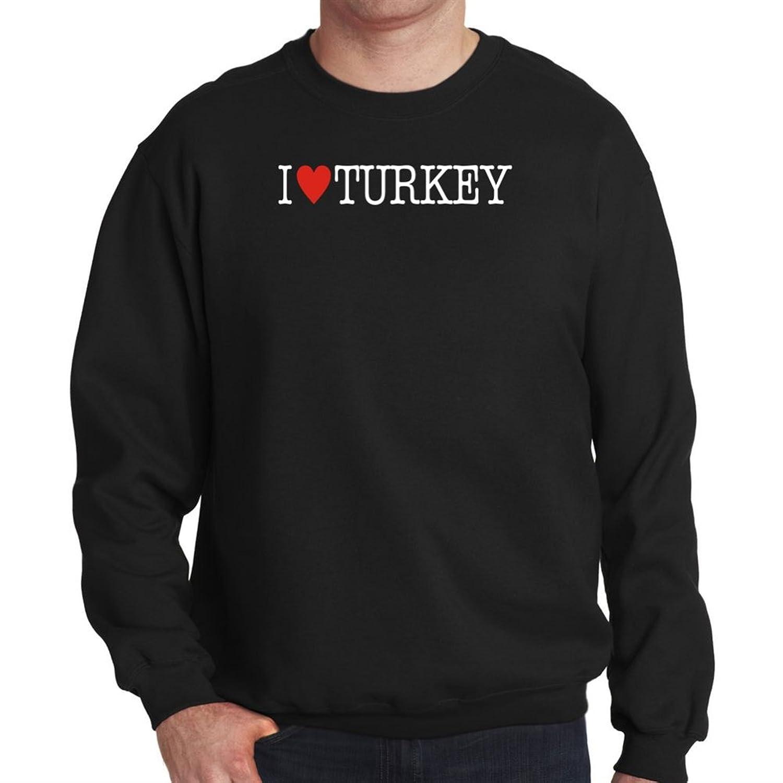 I love Turkey ISO Code Mens Sweatshirt