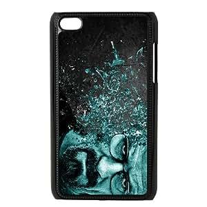 iPod Touch 4 Case Black Breaking Bad Back Custom Phone Case Cover XPDSUNTR22365