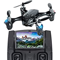 Tekstra Hubsan X4 H107D Micro Drone Quadcopter with FPV 720P HD Camera, Black