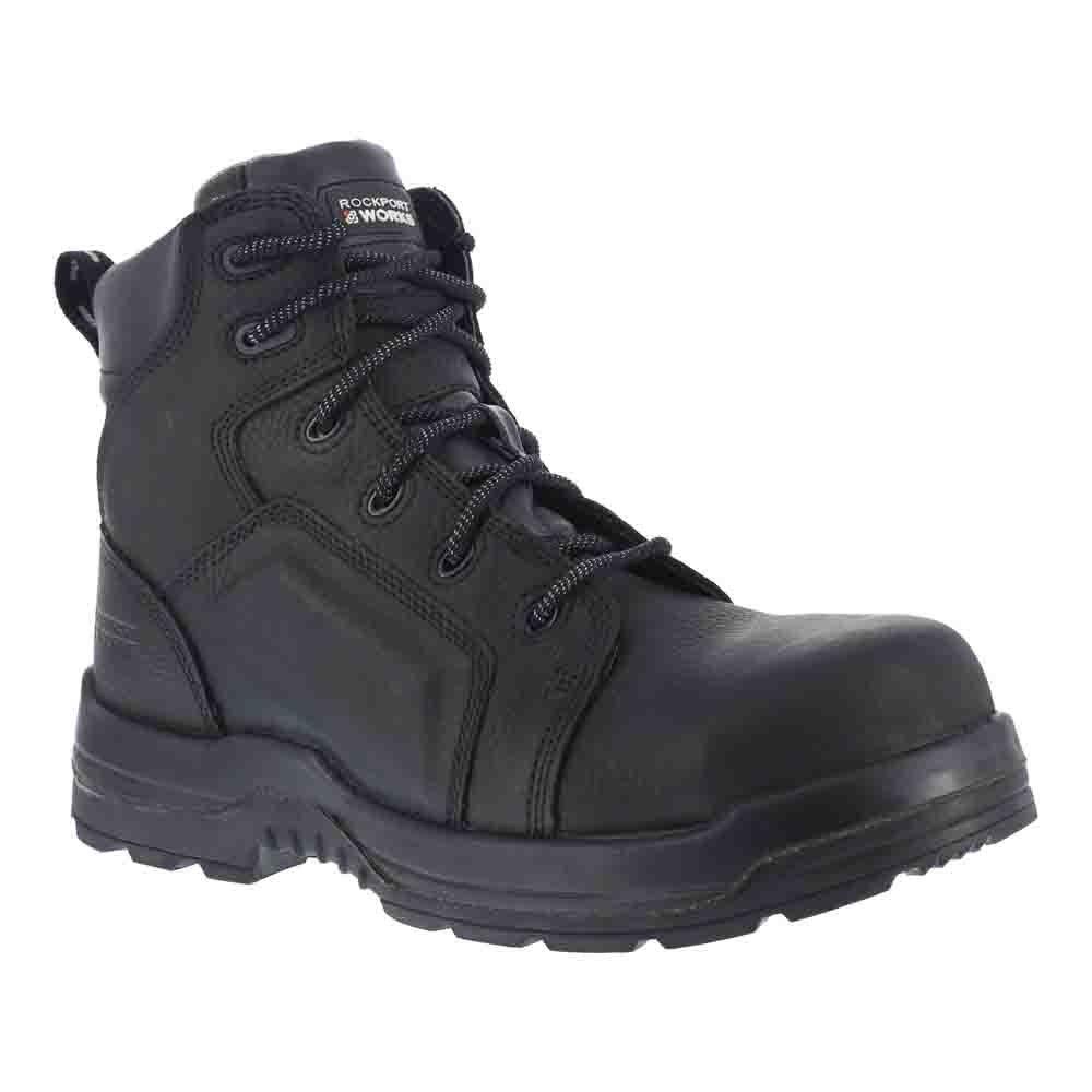 Rockport メンズ B00C8SAB7Y 9.5 D(M) US|Black Waterproof Tumbled Full Grain Leather Black Waterproof Tumbled Full Grain Leather 9.5 D(M) US