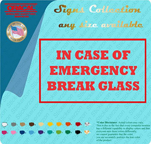 (In Case of Emergency Break Glass 3