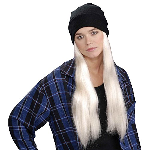 Grunge Cuffed Scully Hat and Wig Costume Accessory (Scully Costume)