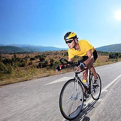 Ciclismo Pantalones Cortos de Bicicleta 4D Gel de sílice Acolchado ...