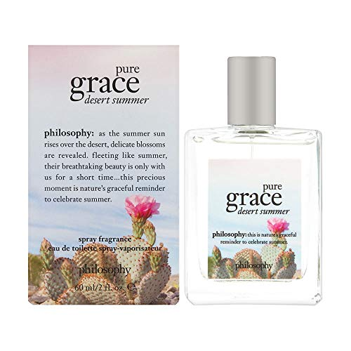 (Philosophy Pure Grace Desert Summer Fragrance 2.0 oz EDT Spray for Women )