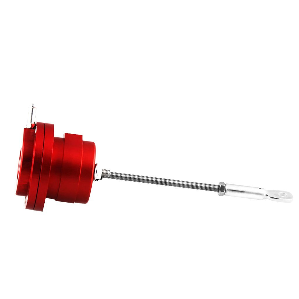 MagiDeal High Quality Turbo Wastegate Actuator Universal 6 x Spring & 4 x Rod - Red, as Described non-brand