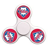 New style Philadelphia_Phillies Hands Fidget Spinner Toy Stress Reducer - Perfect for ADHD, Anxiety, and Autism Adult Children, Ultra Fast Bearings(White)