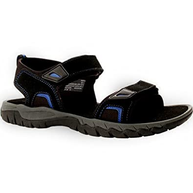 81a2a1950a93 Ozark Trail Men s Suede River Bumptoe Sandal (11 US) Black