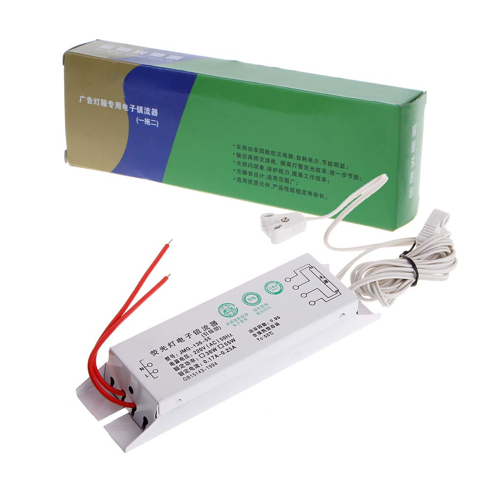 18-36W AC220V Electronic Ballast for Headlight Fluorescent Lamp Bulb Instant Start T8 Electronic Ballast