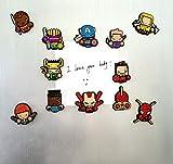 Exclusive Superhero Fridge magnets - Marvel
