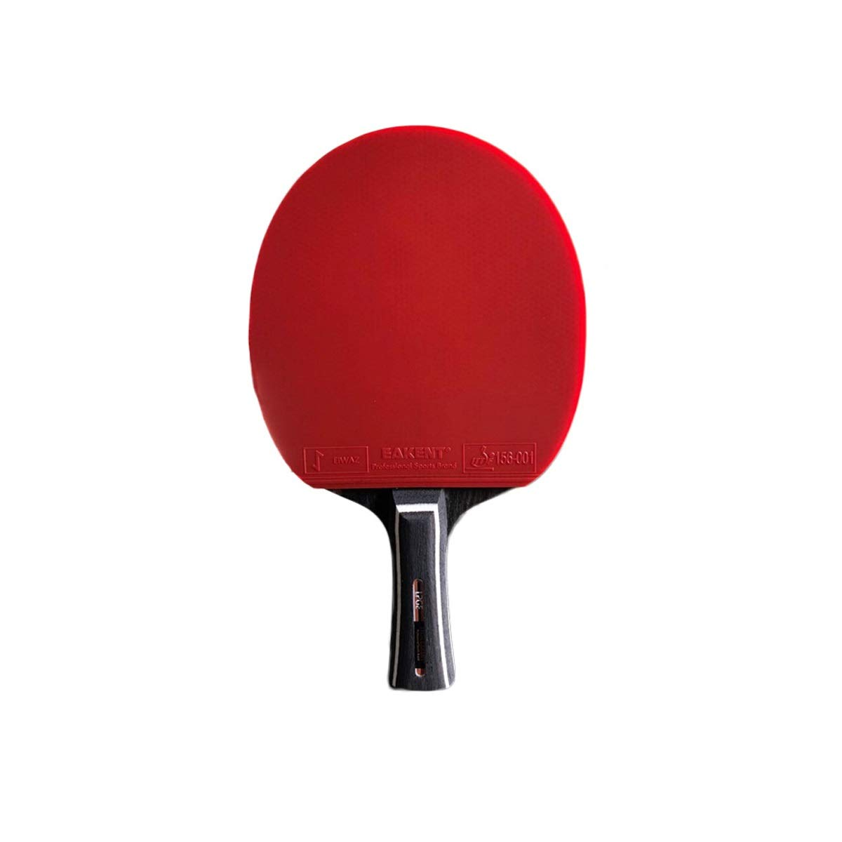 HENGTONGTONGXUN Table Tennis Racket, Single Shot, Seven Stars, Double-Sided Ping-Pong Carbon Pen-Hold, Horizontal Shot (Size : A)