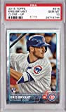 2015 Topps Baseball #616 Kris Bryant Rookie Card Graded PSA 10 Gem Mint