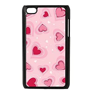 AKERCY Loving Heart Phone Case For Ipod Touch 4 [Pattern-3]