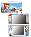 Sofia the First Once Upon a Princess Clover Amber Video Game Vinyl Decal Skin Sticker Cover for Original Nintendo 3DS XL System