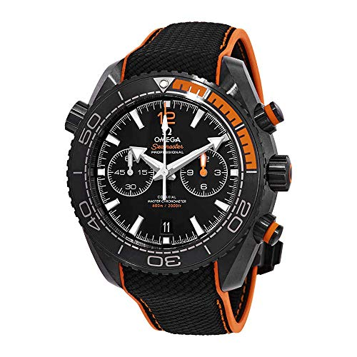 Omega Seamaster Planet Ocean Chronograph Automatic Black Dial Mens Watch 215.92.46.51.01.001