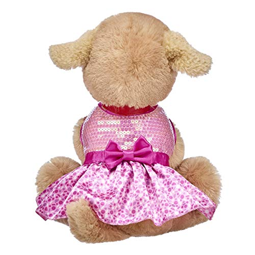 Build A Bear Workshop Promise Pets Pink Sprinkle Dress