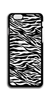 Cute Cartoon Back Cover iphone 6plus cases for guys - Pink Zebra Print by bluberrygirl