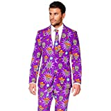 OppoSuits Halloween Costumes Men – Full Suit: Includes Jacket, Pants Tie