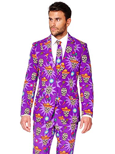 (OppoSuits Halloween Costumes for Men – Full Suit: Includes Jacket, Pants and)