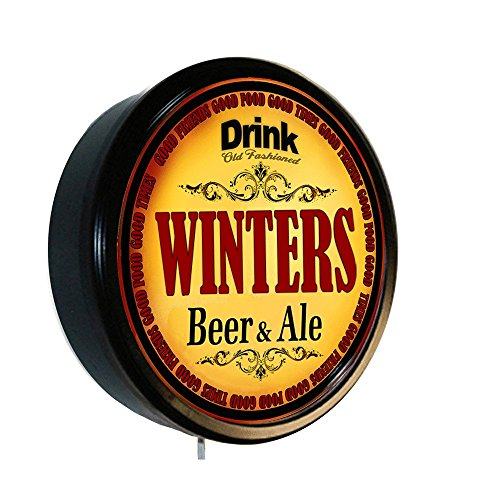 Cerveza Lighted Wall Sign (Winter Ale)