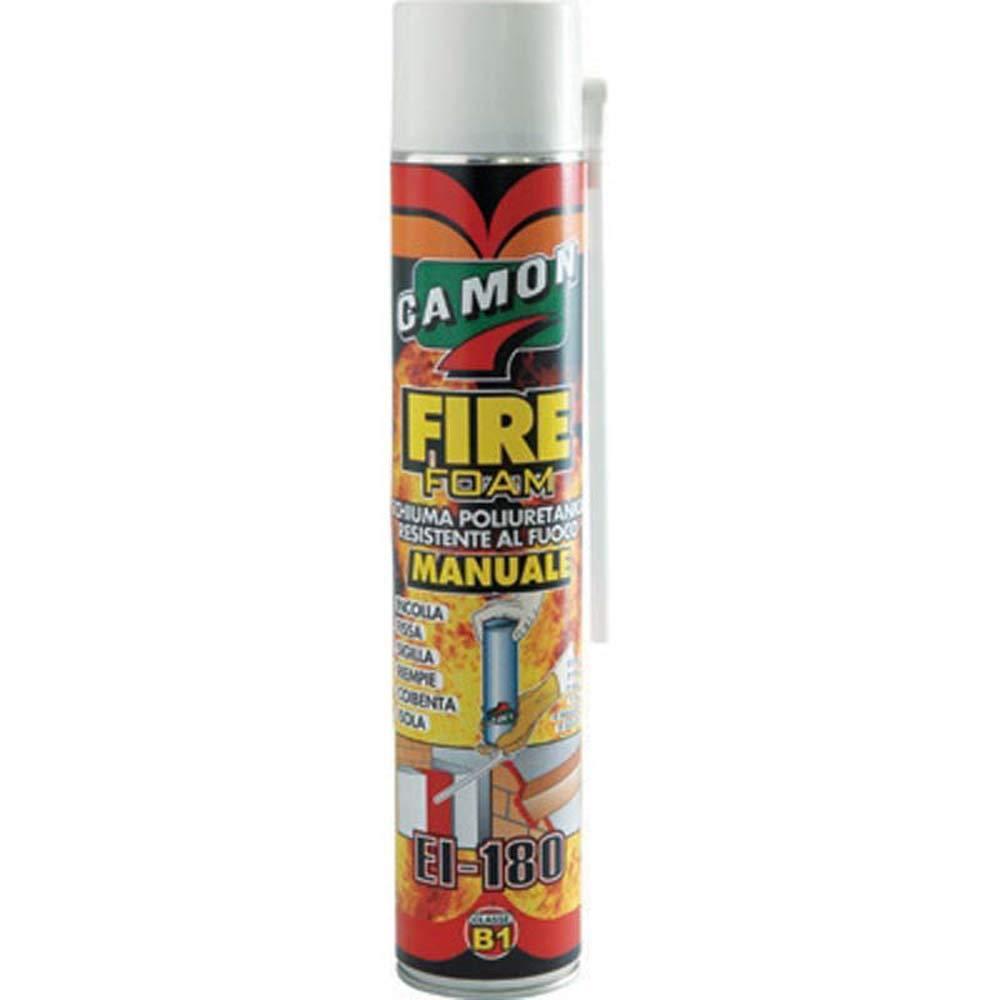 Camon Espuma poliuretano resistente al fuego Mod. Fire Foam - 700 ml: Amazon.es: Bricolaje y herramientas
