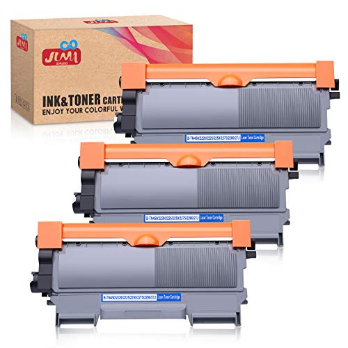 JIMIGO Compatible Toner Cartridge Replacement for Brother TN450 TN-450 TN420 TN-420 High Yield Toner for Brother HL-2270DW HL-2280DW HL2230 MFC-7860DW MFC-7360N MFC7460DN DCP-7065DN FAX-2840 (3 Black)