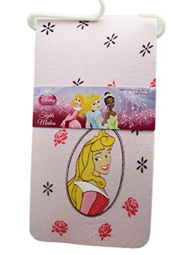 Disney Princess Tights (Disney's Sleeping Beauty Princess Aurora Light Pink Girls Tights (30-38