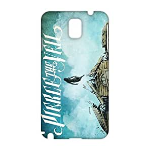 Angl 3D PIERCE THE VEIL LYRICS Phone For Iphone 5/5S Case Cover