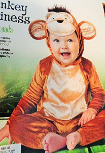 Monkey Business Infant Costume Size 12 - 18 Months