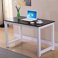 Topeakmart Computer Desk Home Office Desk PC Laptop Study Table Workstation Writing Desk, Black