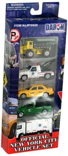 - Daron New York City Official Vehicle Set, 5-Piece
