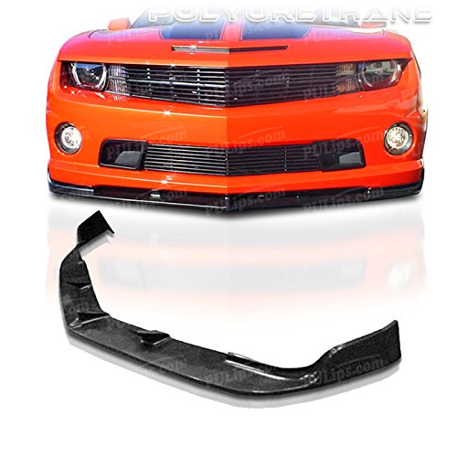 PULIps CHCM10V8STLFAD - STL Style Front Bumper Lip For Chevrolet Camaro SS 2010-2013 ()