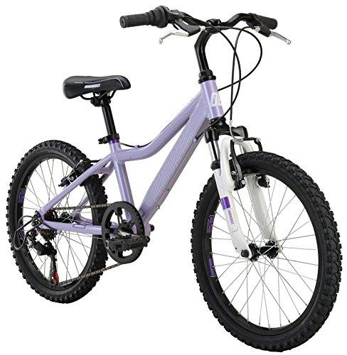 "Diamondback Bicycles Lustre 20 Kid's Mountain Bike, 20"" Wheels, Purple"