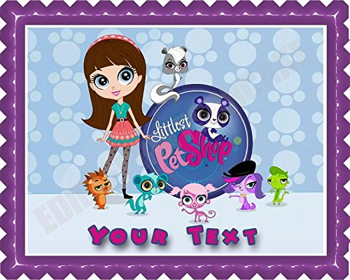 Littlest Pet Shop Edible Cake Topper & Cupcake Toppers - 7.5