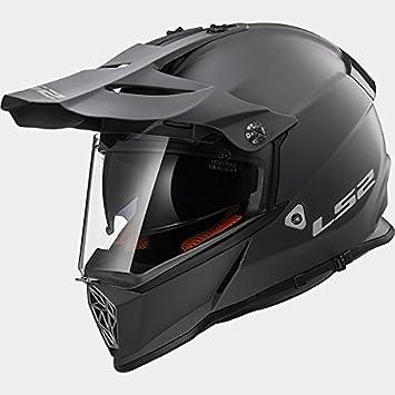 65-66cm LS2 MX436 ADVENTURE PIONEER Motocross Motorbike Motorcycle Helmet White 3XL