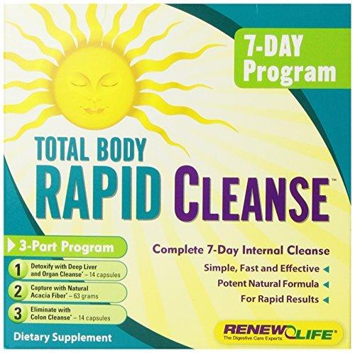 Renew Life Formulas Total Body Rapid Cleanse