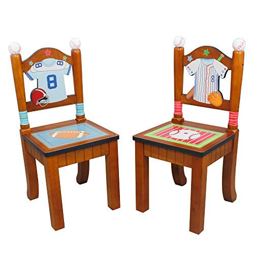 Fantasy fields lil sports fan thematic hand crafted