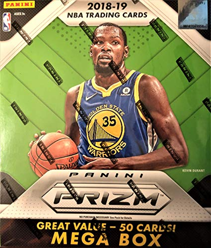 Prizm Basketball Mega Box-3 Silver Prizms Plus 10 Pink Ice On Avg ()
