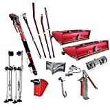 Level 5 Full Set of Automatic Drywall Taping Tools (Free Stilts) by LEVEL5...