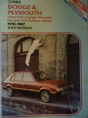 Dodge & Plymouth Omni-024-Charger-Rampage Horizon-Tc3-Turismo-Scamp 1978-1987 Shop Manual - 1981 Dodge Omni