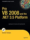 Pro VB 2008 and the .NET 3.5 Platform, Andrew Troelsen, 1590598229