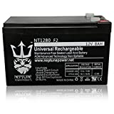 Neptune Power NT1280 F2, Replacement for ExpertPower EXP1280 12V8AH Rechargeable Battery