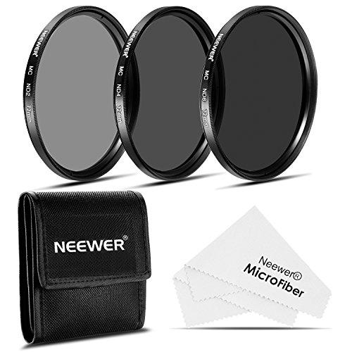 Neewer® 72MM ND Filter Set + Cleaning Cloth for CANON EF-S 18-200mm f/3.5-5.6 IS, EF 28-135mm f/3.5-5.6 IS USM Lens, NIKON 24-85mm f/3.5-4.5G ED VR AF-S, 18-200mm f/3.5-5.6G AF-S ED VR II Lens