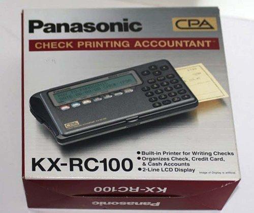 Panasonic KX-RC100 Check Printing Accountant