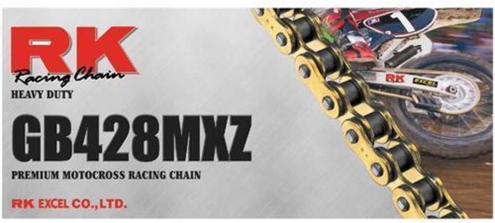 RK GB428MXZ4-CL 428 MXZ GB Heavy Duty Chain Clip Connecting Link Gold