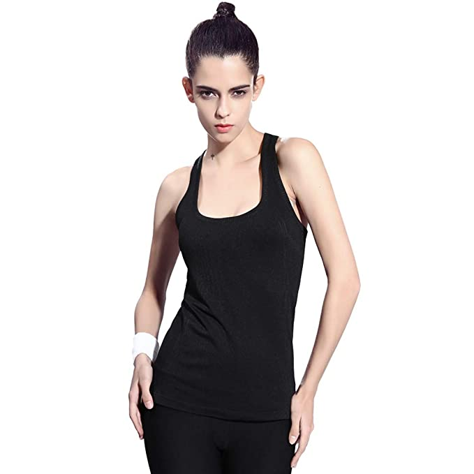 NOVAYARD Soft Breathable Workout Yoga Tank Tops for Women