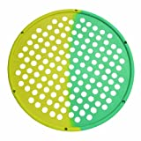 Cando 10-0857 Yellow/Green Multi Resistance Web Hand Therapy Device, 14'' Diameter Latex, X-Light/Medium Resistance