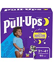 Boys Potty Training Underwear, 3T-4T, Pull-Ups Night-Time for Toddlers, 60 ct, Giga Pack