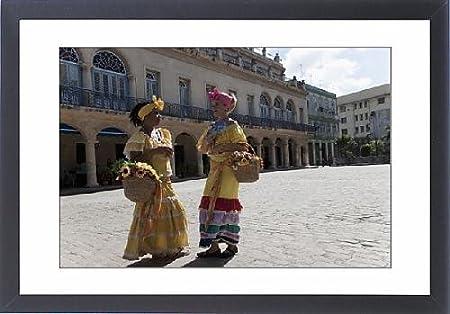 Con Marco de nieve de cubano old disfraz infantil de mujer en ...