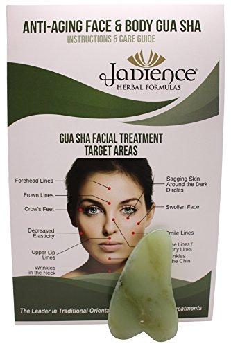 Jade Heart Gua Sha Infrared Healing Massage Therapy Tool ...