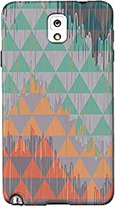 DailyObjects Abstract Geometry Case For Samsung Galaxy Note 3 Multicolored